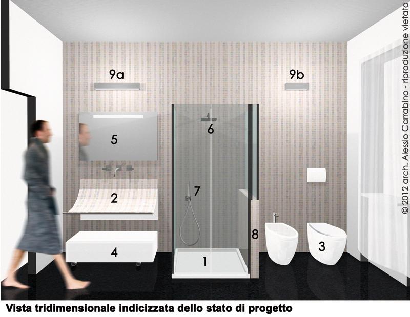 Ristrutturazione Di Un Piccolo Bagno : Progetto di ristrutturazione del bagno architetto consiglia