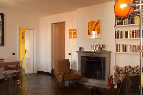 Francesca senette case famose architetto consiglia - Case colorate interni ...