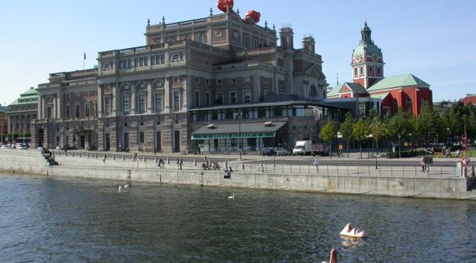 02 Stoccolma – Kungliga Operan, Riksdagshuset e Stadshuset