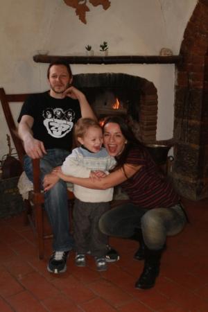 Valeria Rossi e famiglia 2012