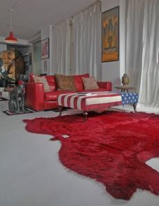 L'abitazione di Gué Pequeno | soggiorno