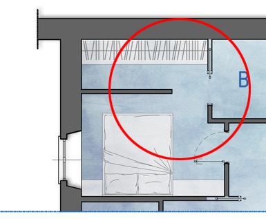 una cabina armadio nella camera matrimoniale  architetto consiglia, Disegni interni