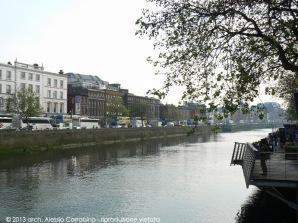 Vista da O'Connell Bridge.