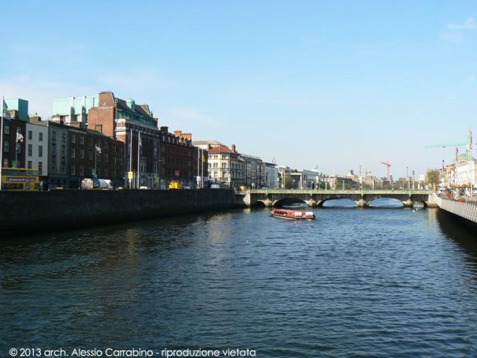 09 Dublino | Il fiume Liffey e O' Connel Street