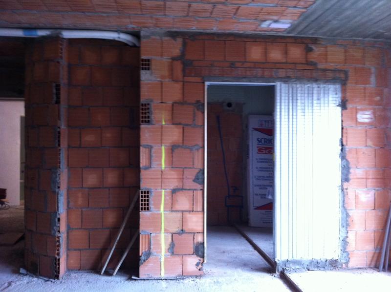 Revisione della planimetria attuale parte 3 architetto - Porta parete cartongesso ...