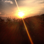 Bolano, tramonto