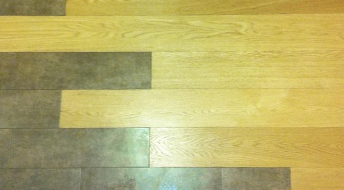 Due pavimenti… a confronto!