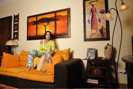 L'abitazione di Nina Soldano, soggiorno
