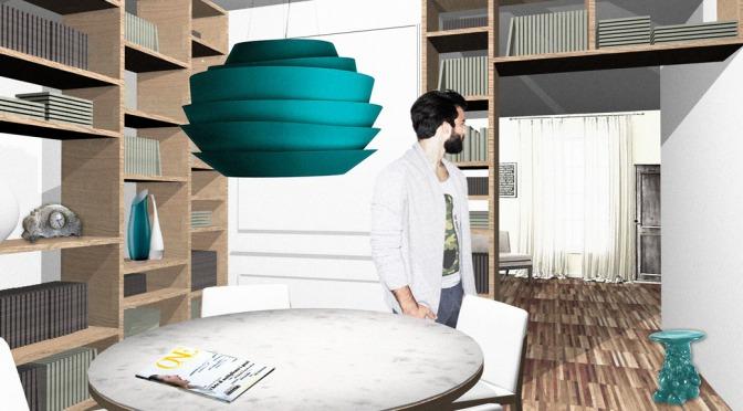 Un ampio corridoio da riprogettare