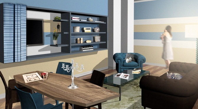 Un nuovo look per l'appartamento dei nonni