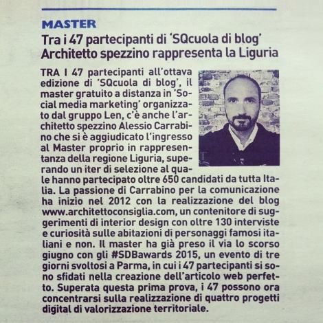 La Nazione | La Spezia | domenica 12 Luglio 2015