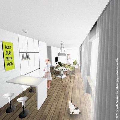 soggiorno open space