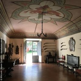 Castello di Fosdinovo - La sala d'ingresso