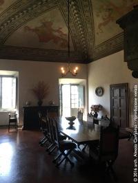 Castello di Fosdinovo - La sala da pranzo
