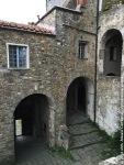 Castello di Fosdinovo - Scale cordonate