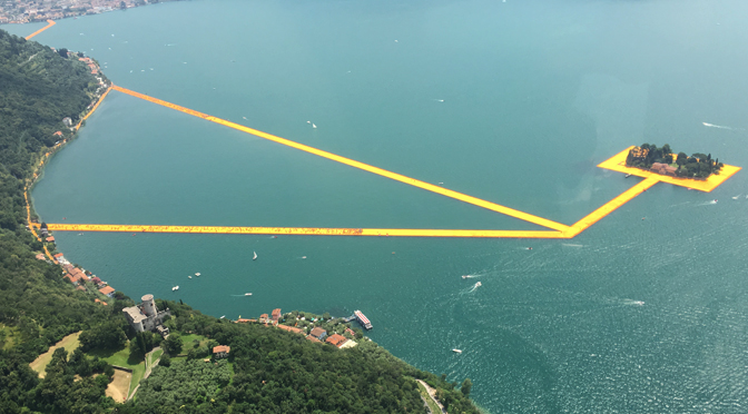The Floating Piers: la nuova vita del progetto di Christo e Jeanne-Claude