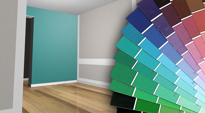Nuove idee per dipingere le pareti di casa