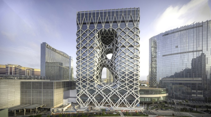 Intagliato come la giada, apre Morpheus Hotel a Macao