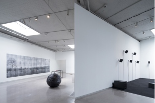 View of second floor galleries in the Institute for Contemporary Art at VCU. Image credit: Iwan Baan.