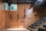 Auditorium in the Institute for Contemporary Art at VCU. Image credit: Iwan Baan.