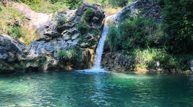 Le cascate di Fiacciano (Bozzi delle Fate)